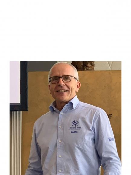 Urs Hunkeler - Geschäftsführer der Winteruniversiade - zu Gast im Rotary Club Schwyz-Mythen