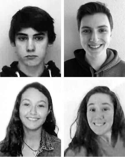Sven EBNER, Manuel Dario WÜSTEFELD, Paula Paloma Roxana BRITO RIVERA, Annalise Patrice Vanderbilt MANCINELLI